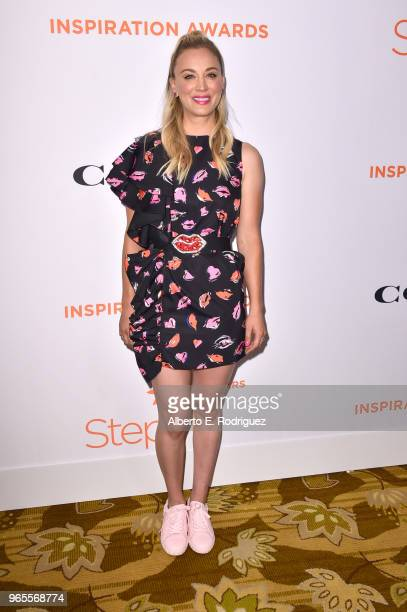 Kaley Cuoco attends Step Up's 14th annual Inspiration Awards at the Beverly Wilshire Four Seasons Hotel on June 1 2018 in Beverly Hills California