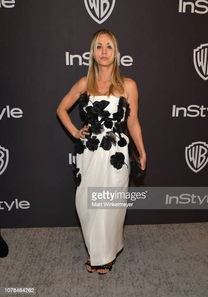 Kaley Cuoco attends the 2019 InStyle and Warner Bros 76th Annual Golden Globe Awards PostParty at The Beverly Hilton Hotel on January 6 2019 in...