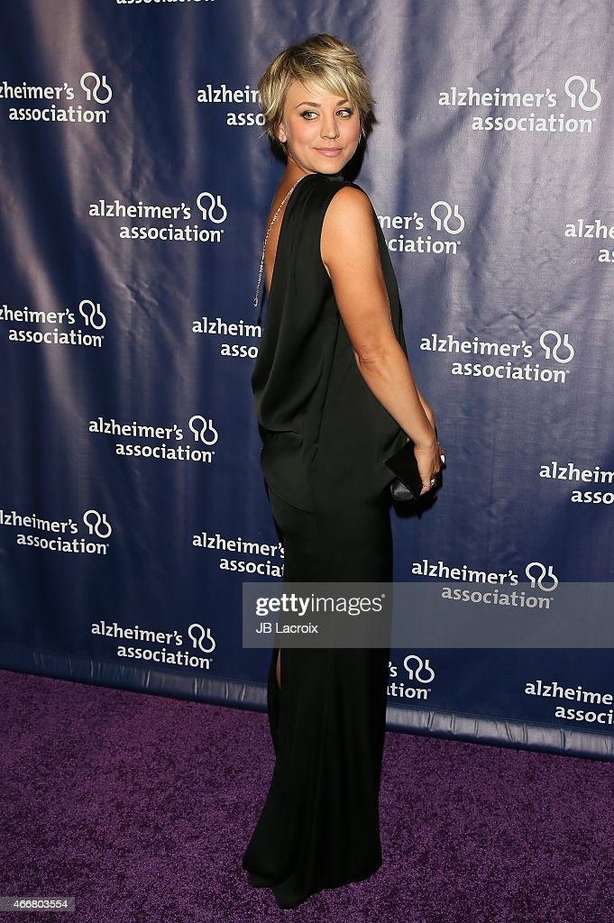 Kaley Cuoco attends the 23rd Annual 'A Night At Sardi's' To Benefit The Alzheimer's Association at The Beverly Hilton Hotel on March 18, 2015 in Beverly Hills, California.