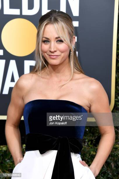 Kaley Cuoco attends the 76th Annual Golden Globe Awards at The Beverly Hilton Hotel on January 6, 2019 in Beverly Hills, California.
