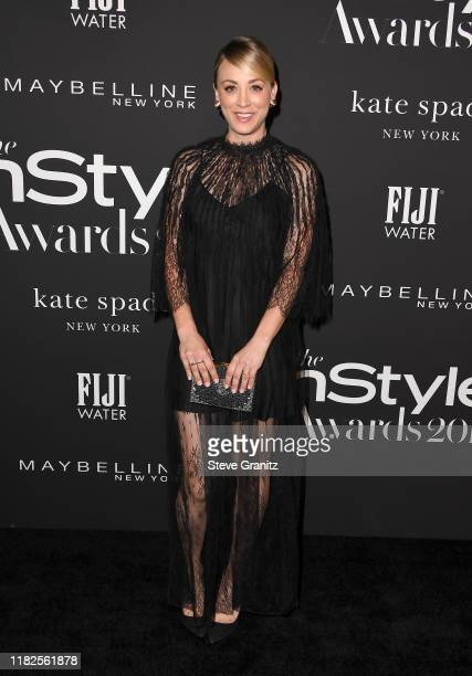 Kaley Cuoco attends the Fifth Annual InStyle Awards at The Getty Center on October 21, 2019 in Los Angeles, California.