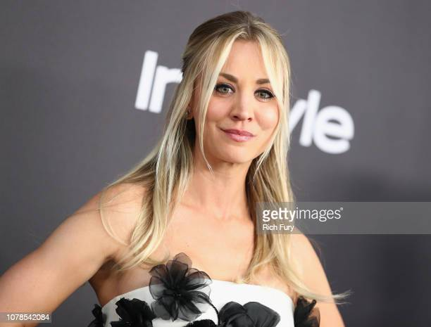 Kaley Cuoco attends the InStyle And Warner Bros. Golden Globes After Party 2019 at The Beverly Hilton Hotel on January 6, 2019 in Beverly Hills,...