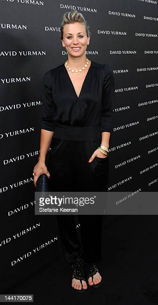 Kaley Cuoco attends the opening of David Yurman's Beverly Hills flagship at David Yurman Boutique on May 10 2012 in Beverly Hills California