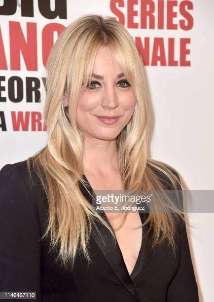 "Kaley Cuoco attends the series finale party for CBS' ""The Big Bang Theory"" at The Langham Huntington, Pasadena on May 01, 2019 in Pasadena,..."