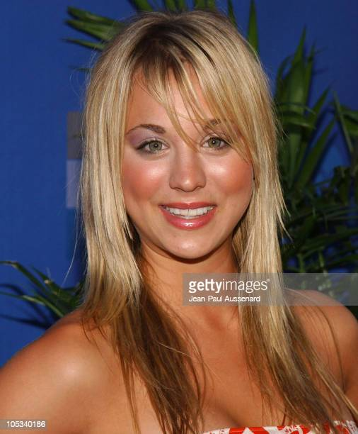 Kaley Cuoco during 2004 ABC All Star Summer Party at C2 Cafe in Century City California United States