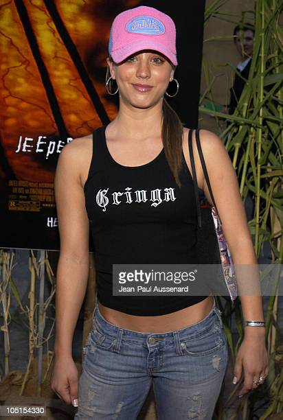 Kaley Cuoco during Jeepers Creepers 2 Los Angeles Premiere in Hollywood California United States