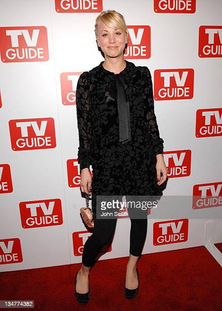 Kaley Cuoco during TV Guide Celebrates the Premiere Annual Issue The Sexy Issue at Bar Marmont in West Hollywood California United States