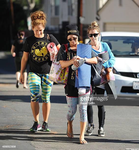 Kaley Cuoco is seen in Los Angeles on November 24 2014 in Los Angeles California