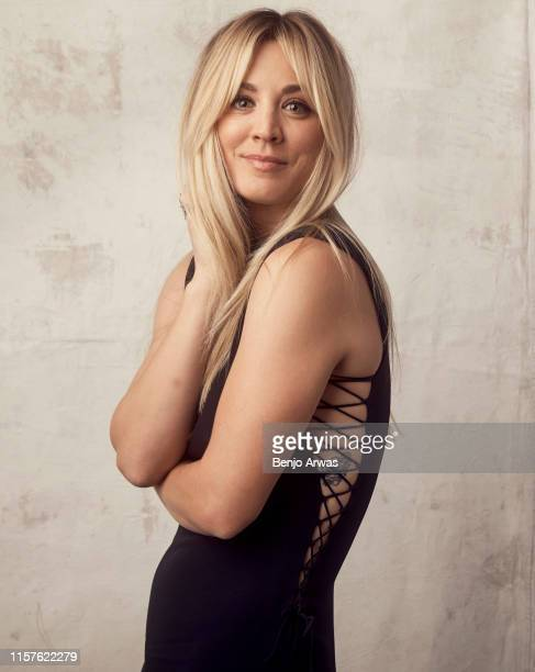 Kaley Cuoco of DC Universe's 'Harley Quinn' poses for a portrait during the 2019 Summer TCA Portrait Studio at The Beverly Hilton Hotel on July 23...