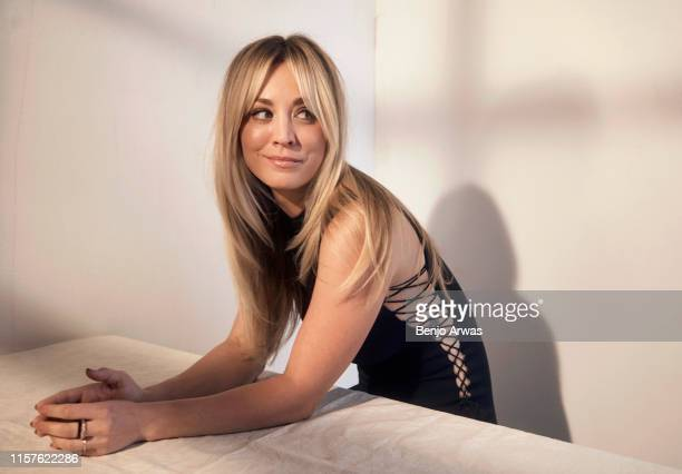 Kaley Cuoco of DC Universe's 'Harley Quinn' poses for a portrait during the 2019 Summer TCA Portrait Studio at The Beverly Hilton Hotel on July 23,...