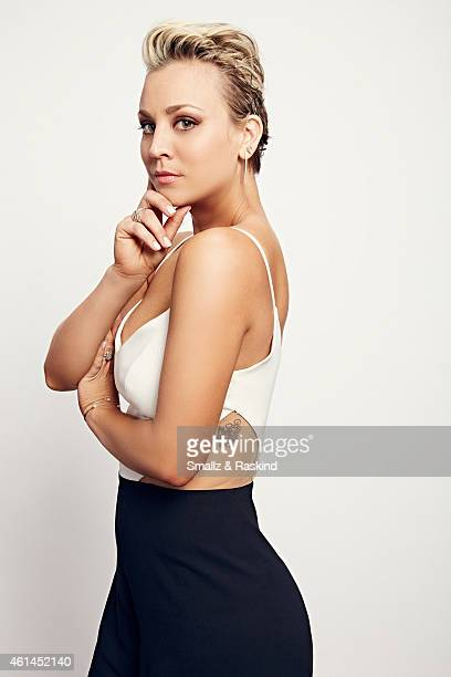 Kaley Cuoco poses during the The 41st Annual People's Choice Awards at Nokia Theatre LA Live on January 7 2015 in Los Angeles California