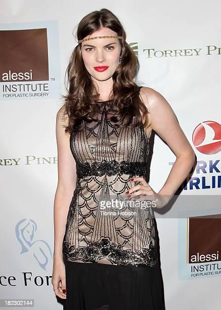 Kaley Ronayne attends the 4th annual Face Forward LA Gala at Fairmont Miramar Hotel on September 28 2013 in Santa Monica California