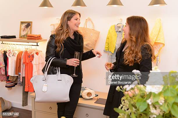 Kali Argianas and Erika Ortiz attend as Bonpoint hosts an evening of shopping to benefit YWCA Metropolitan Chicago on May 18 2016 in Chicago Illinois