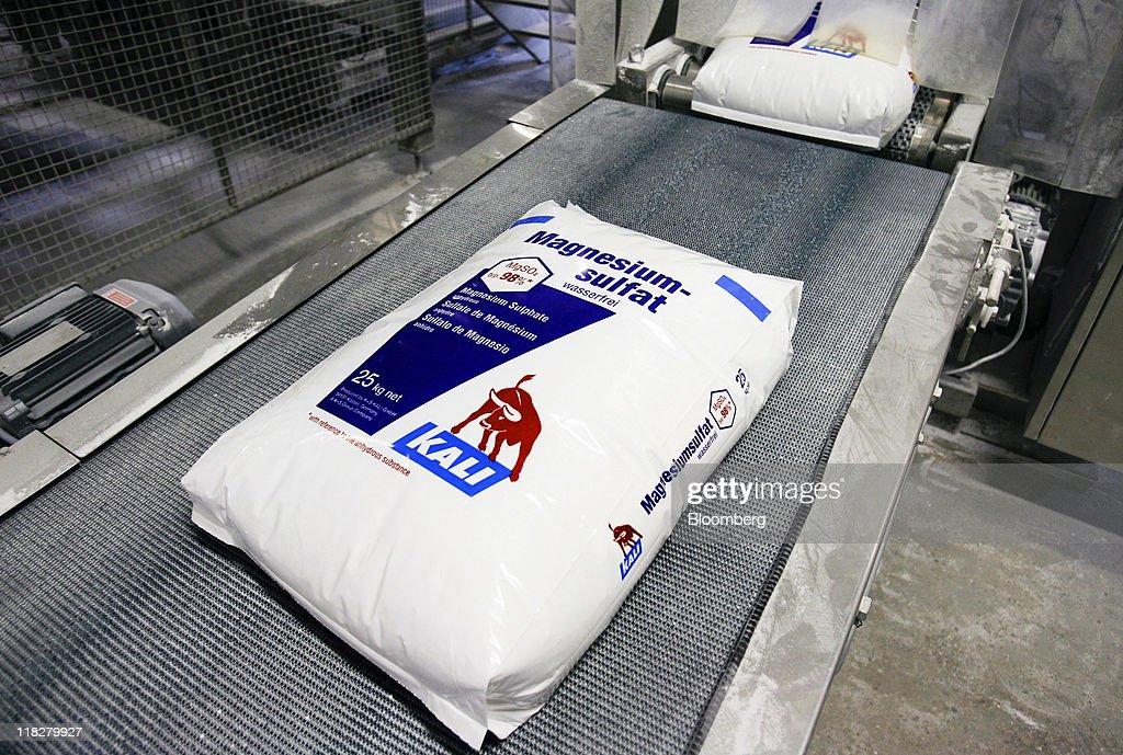 K&S Potash Production Plant : Fotografia de notícias