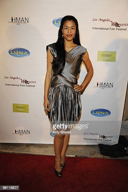 Kali Hawk attends the Los Angeles Women's International Film Festival Opening Night Gala at Libertine on March 26 2010 in Los Angeles California