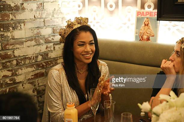 Kali Hawk attends the New York Fashion Week Brunch with Kali Hawk and Natalie Zfat at Trademark Restaurant on September 10 2016 in New York City