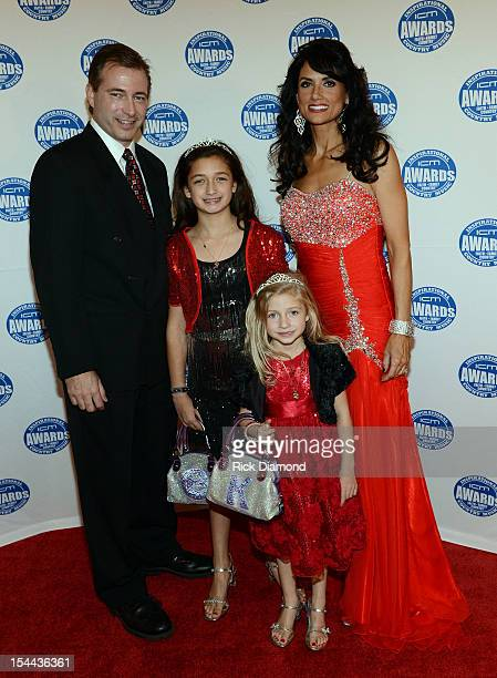 Kali Rose and Family at the Inspirational Country Music Awards on October 18 2012 in Nashville Tennessee