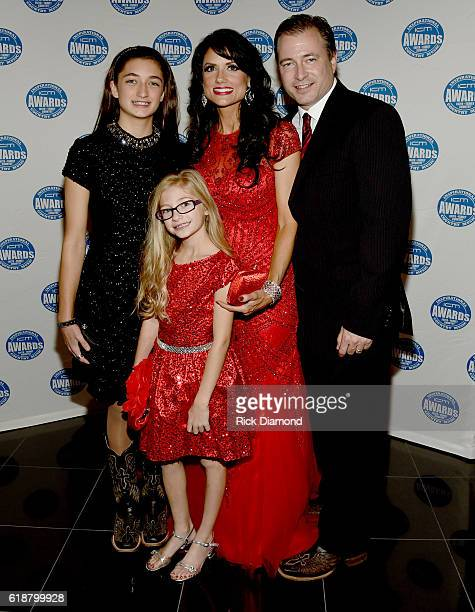 Kali Rose and family attend the 2016 Inspirational Country Music Association Awards at Trinity Music City on October 27 2016 in Hendersonville...