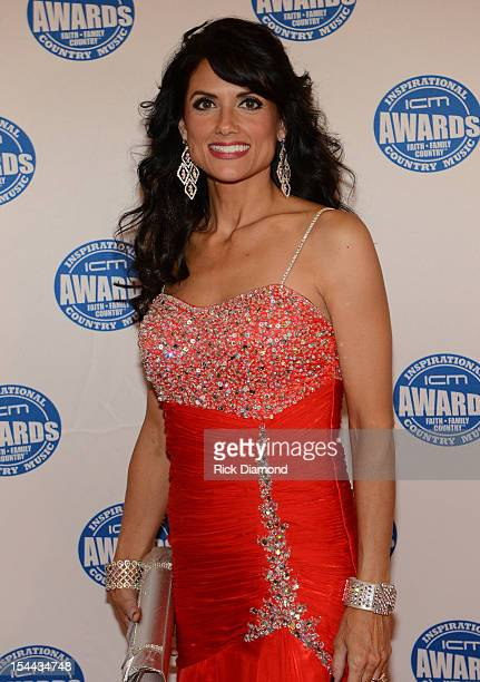 Kali Rose on the Red Carpet at the Inspirational Country Music Awards on October 18 2012 in Nashville Tennessee