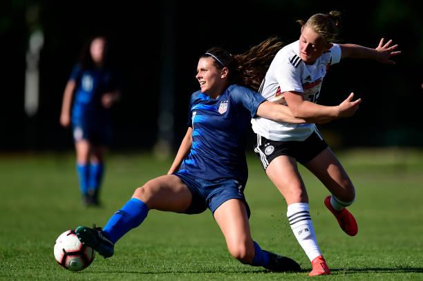VA: USA Women's U19 v Germany Women's U19 - International Friendly