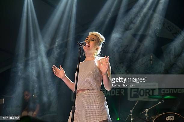 Kali Uchis performs at Fader Fort on March 21 2015 in Austin United States