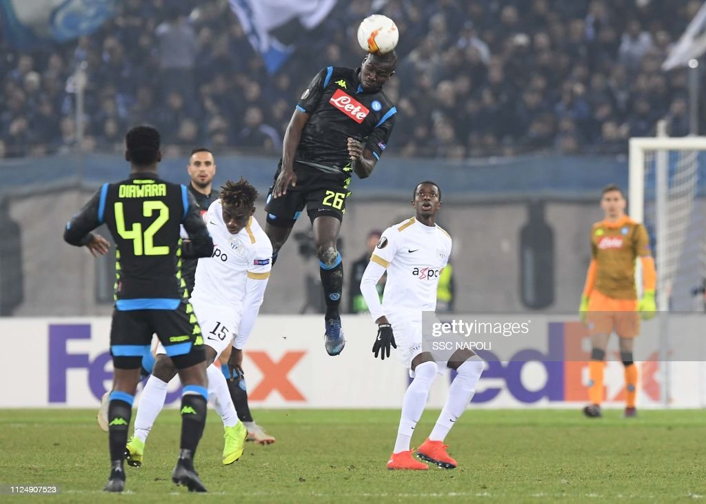 FC Zurich v SSC Napoli - UEFA Europa League Round of 32: First Leg : News Photo