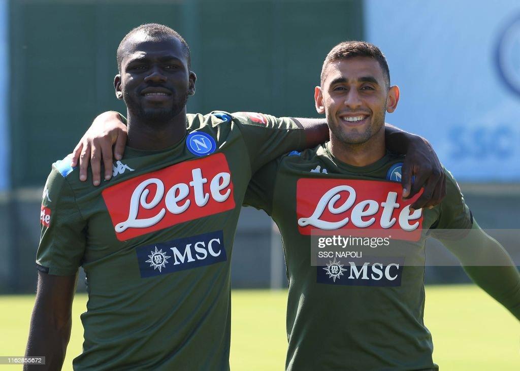 SSC Napoli Training Session : News Photo