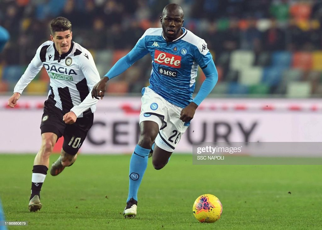 Udinese Calcio v SSC Napoli - Serie A : ニュース写真