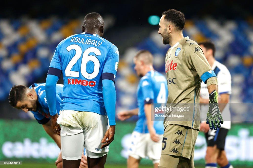 Napoli v Atalanta Bergamo - Italian Coppa Italia : News Photo