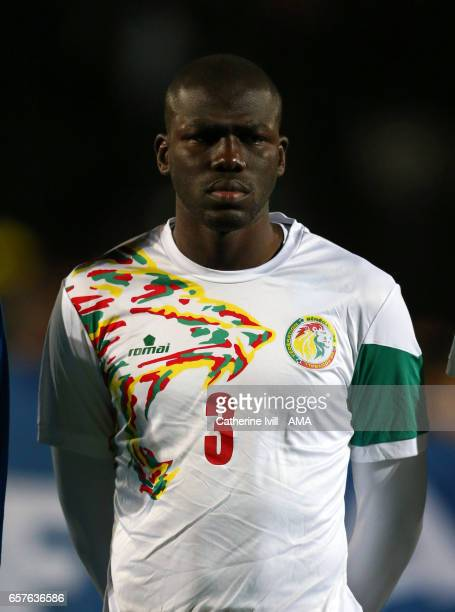 Kalidou Koulibaly of Senegal during the International Friendly match between Nigeria and Senegal at The Hive on March 23 2017 in Barnet England