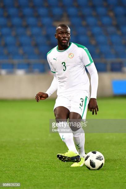 Kalidou Koulibaly of Senegal during the international friendly match match between Senegal and Bosnia Herzegovina on March 27 2018 in Le Havre France