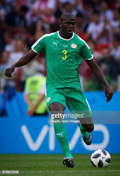 Kalidou Koulibaly of Senegal in action during the 2018 FIFA World Cup Russia group H match between Poland and Senegal at Spartak Stadium on June 19...
