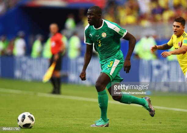 Kalidou Koulibaly of Senegal in action during the 2018 FIFA World Cup Russia group H match between Senegal and Colombia at Samara Arena on June 28,...