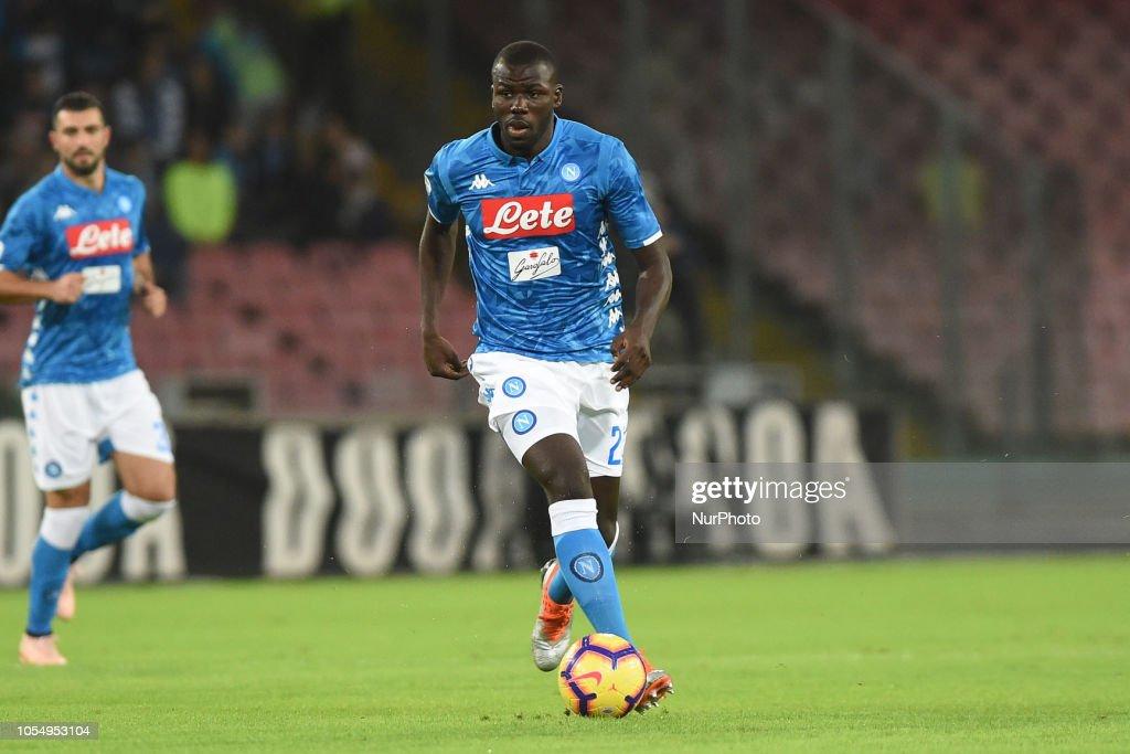 SSC Napoli v AS Roma - Serie A : News Photo