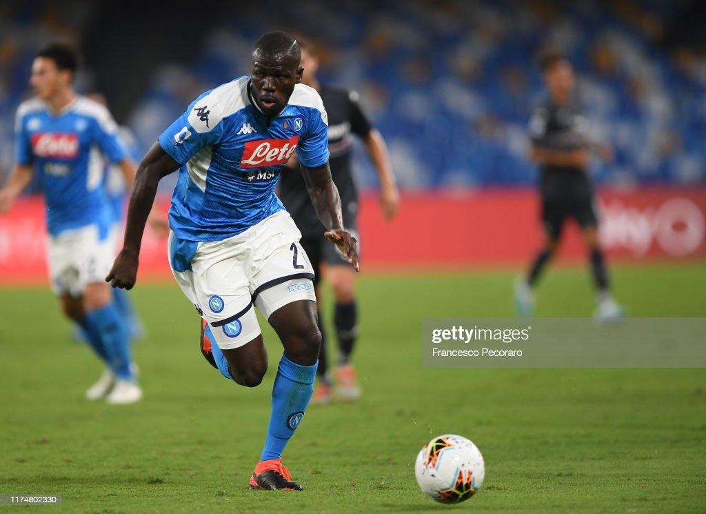 SSC Napoli v UC Sampdoria - Serie A : Fotografía de noticias