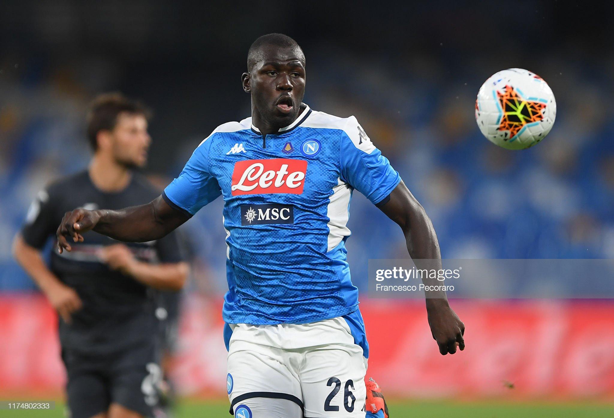 SSC Napoli v UC Sampdoria - Serie A : News Photo