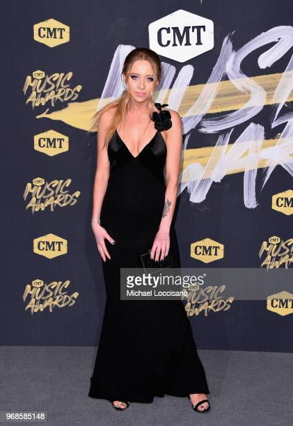 Kalie Shorr attends 2018 CMT Music Awards at Bridgestone Arena on June 6 2018 in Nashville Tennessee