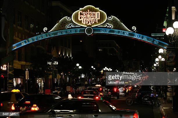 Kalifornien California San Diego - Gaslamp Quarter