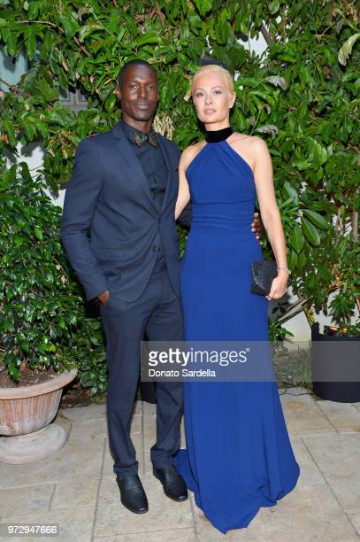 Kalina Rahal and guest attend the Max Mara Celebration for Alexandra Shipp 2018 Women In Film Max Mara Face Of The Future Award Recipient at Chateau...