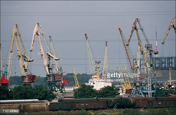 Kaliningrad between Poland and Lithuania in Russia in September 1991
