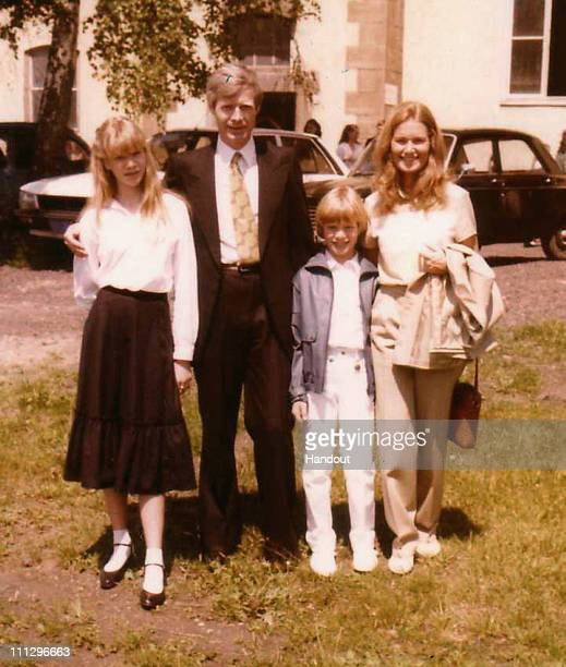 Kalinka Bamberski is seen with her father Andre Bamberski, her brother Nicolas and her mother Daniele Gonnin in this undated family photo. Dieter...