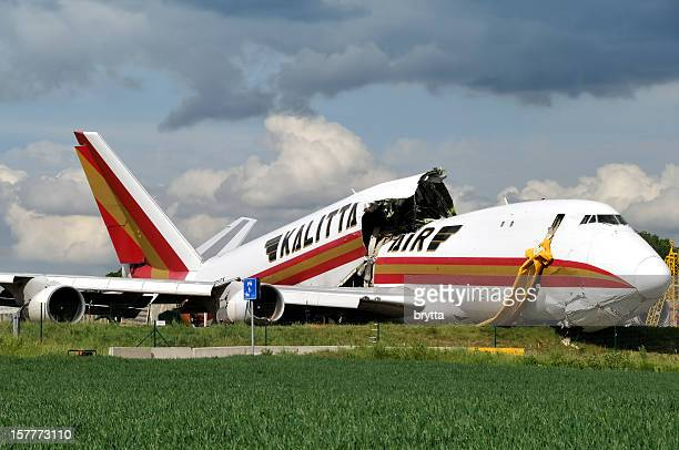 Kalitta Air Boeing 747 cargo Accident de transport à l'aéroport de Bruxelles, Belgique