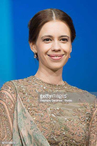 Kalki Koechlin attends the Opnening Ceremony of the 16th Marrakech International Film Festival on December 2 2016 in Marrakech Morocco