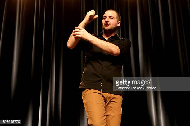 kallagan - stand up comedian stock pictures, royalty-free photos & images