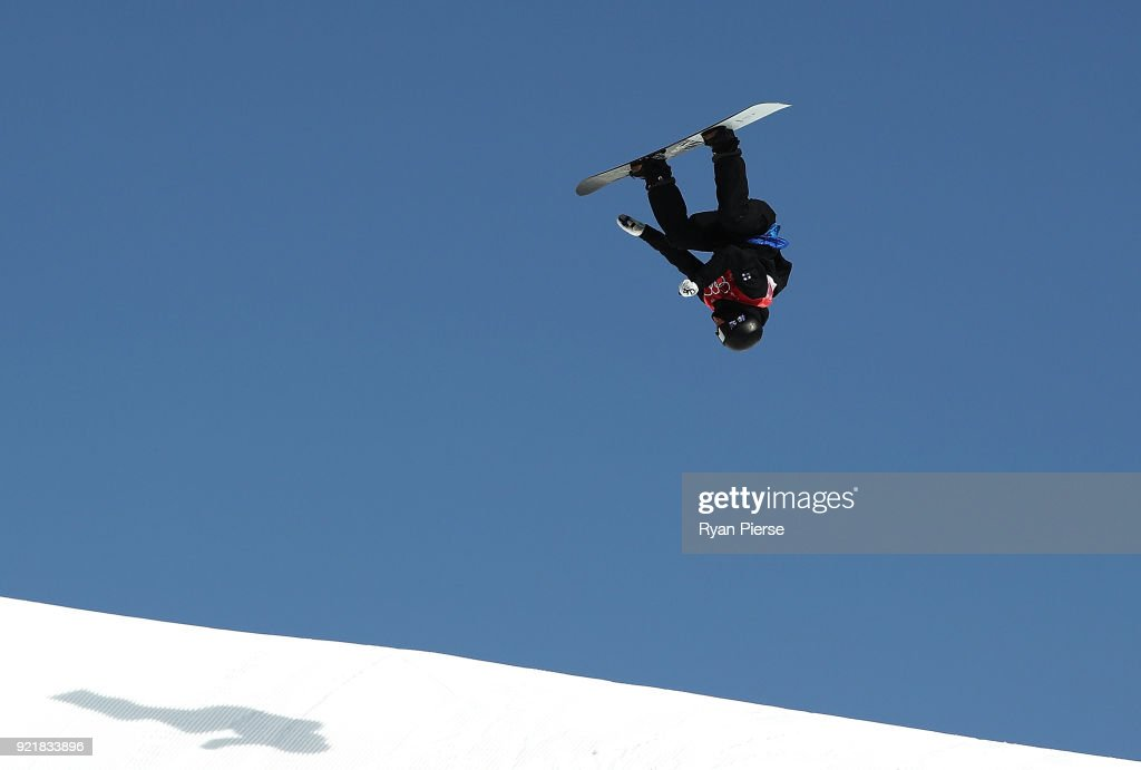 Kalle Jarvilehto of Finland competes during the Men's Big Air Qualification on day 12 of the PyeongChang 2018 Winter Olympic Games at Alpensia Ski Jumping Centre on February 21, 2018 in Pyeongchang-gun, South Korea.