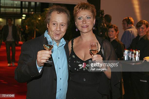 Kalle Pohl and Michaela Pohl attend the German Comedy Awards at The Coloneum on October 10 2006 in Cologne Germany