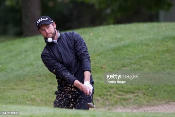 Kalle Samooja from Finland during the third round of the 2017 Irish Challenge at Mount Wolseley Hotel Spa and Golf Resort on September 16 2017 in...