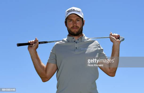 Kalle Samooja of Finland poses for a portrait during the first round of Andalucia Costa del Sol Match Play at La Cala Resort on May 18 2017 in La...