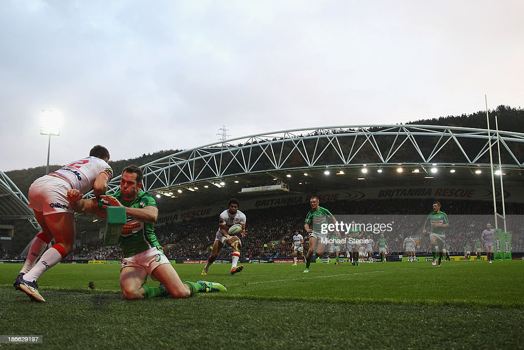 England v Ireland - Rugby League World Cup: Group A