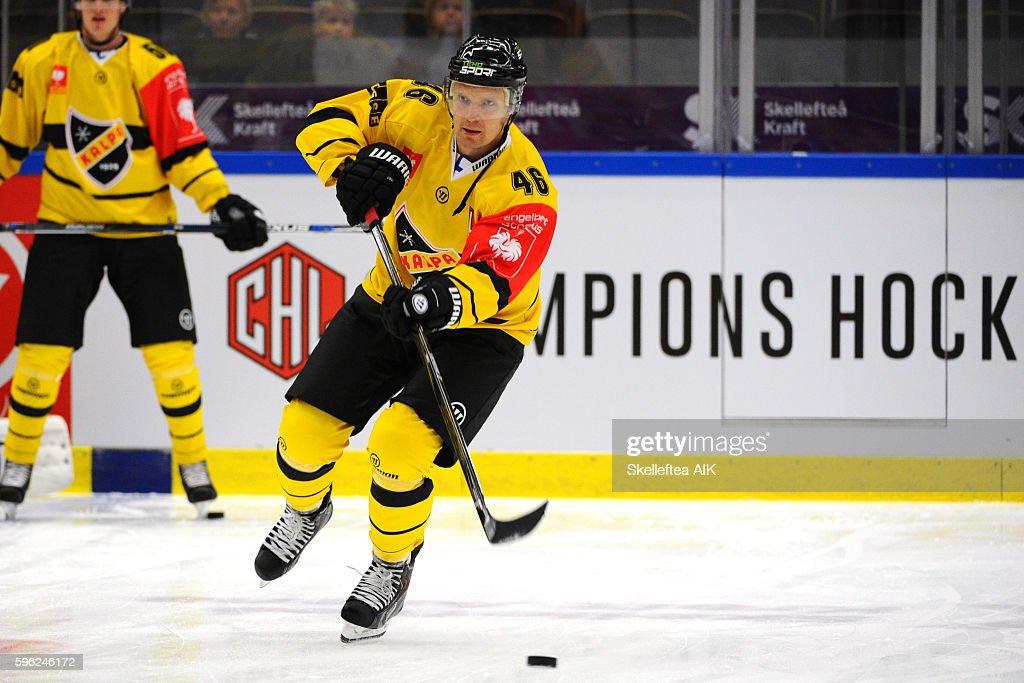 Skelleftea AIK v KalPa Kuopio - Champions Hockey League : News Photo
